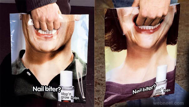 creative bag ad bite