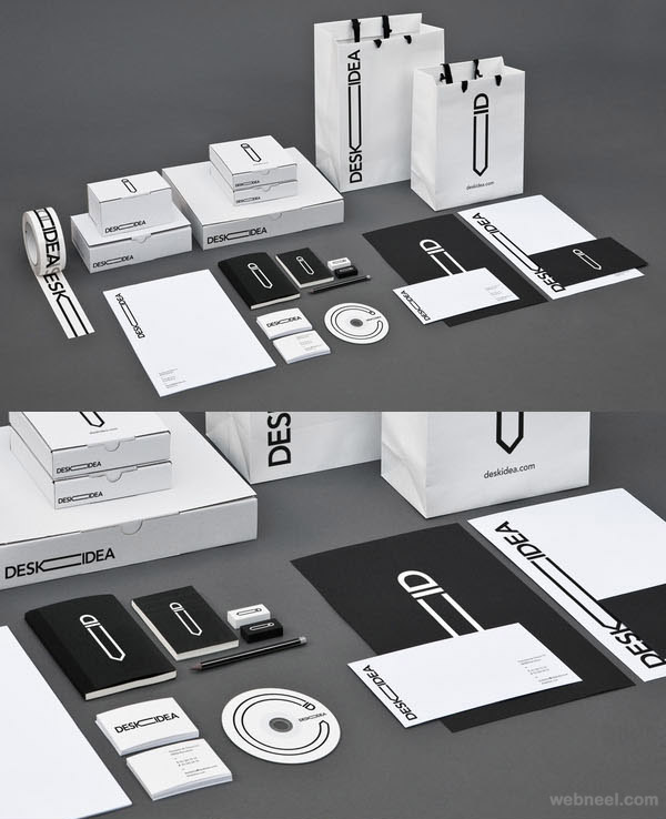 desk idea branding identity design