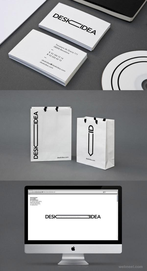 desk idea branding identity design
