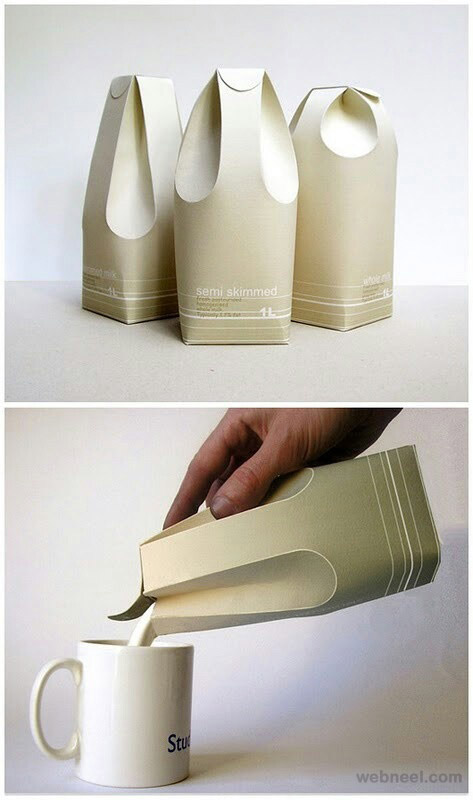 milk brilliant packaging design