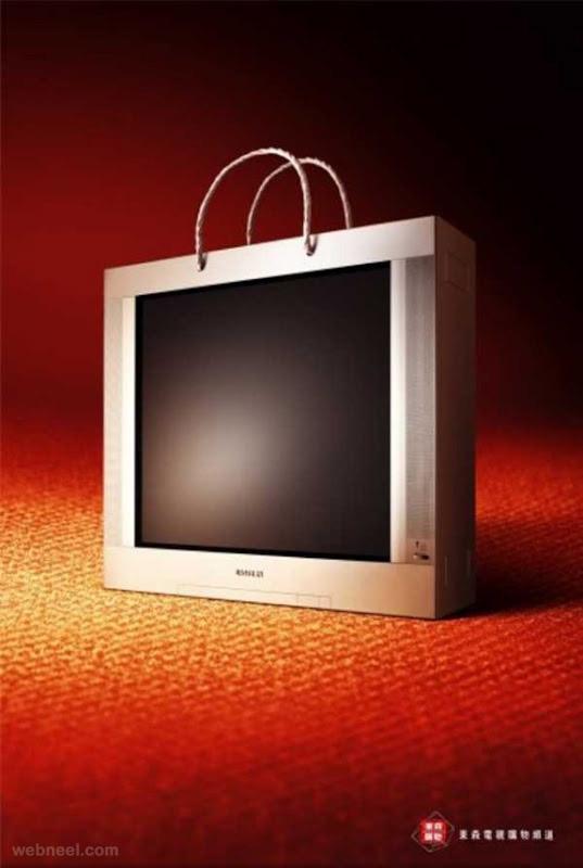 creative bag ad tv