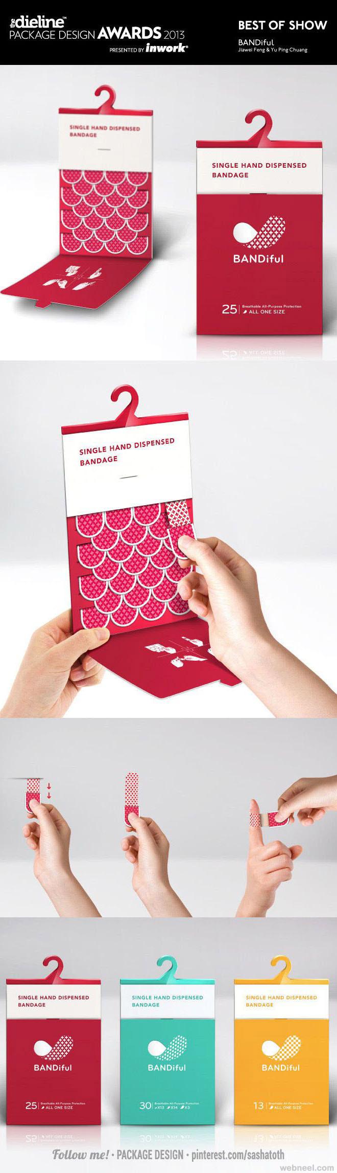 bandage brilliant packaging design
