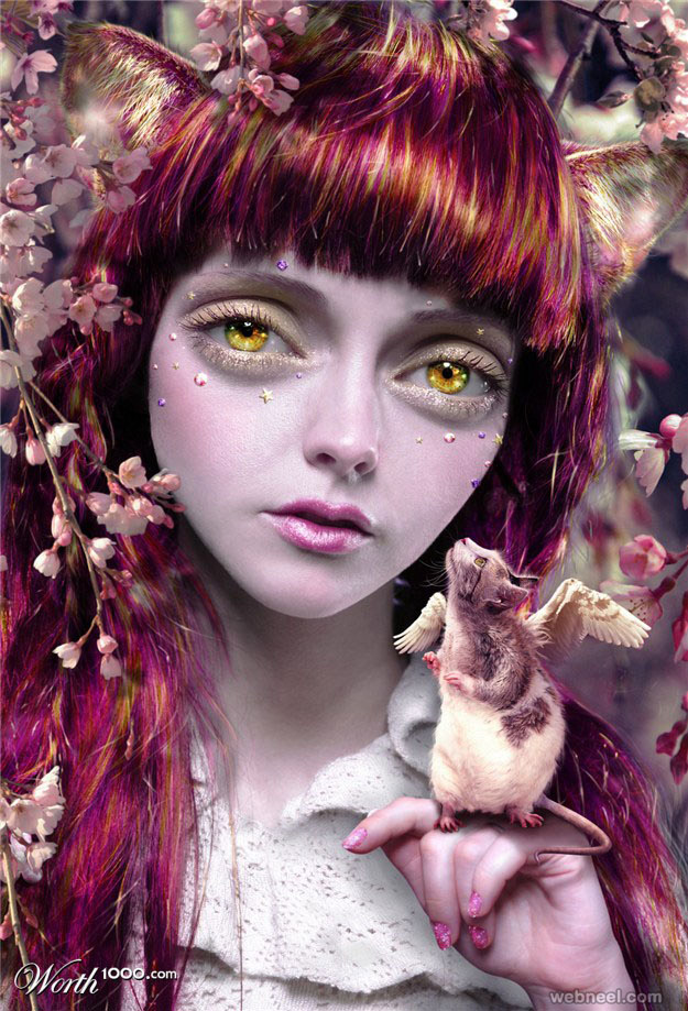 girl photo manipulation by pikkatze