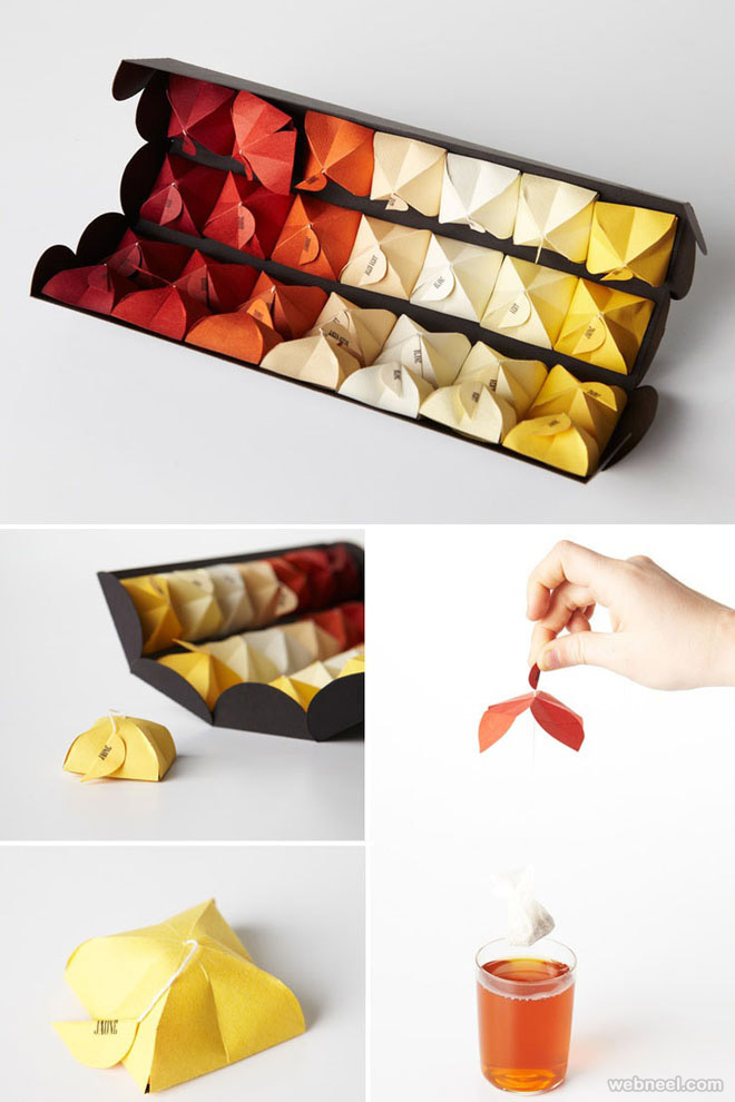 tea bag brilliant packaging design