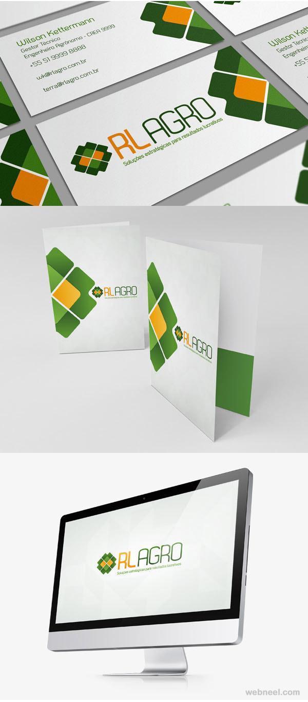 rl agro branding identity design