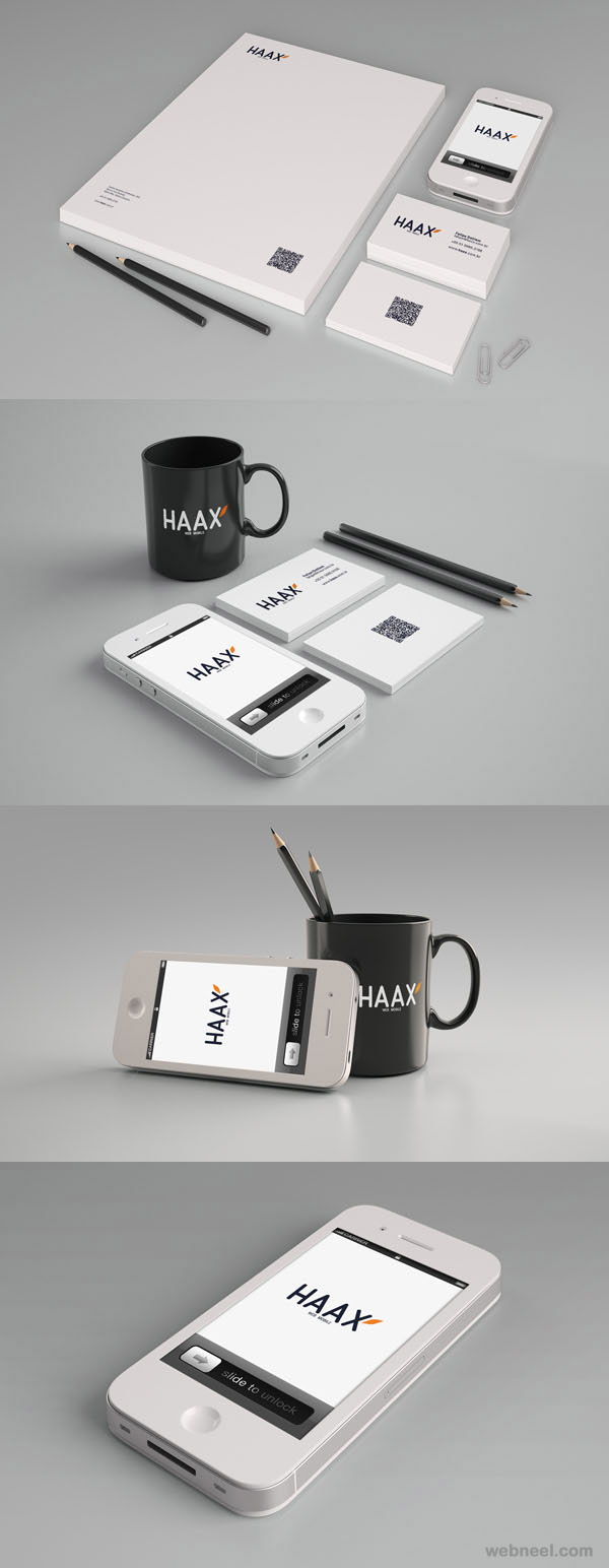 haax branding identity design