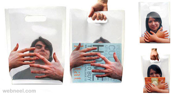 creative bag ad book