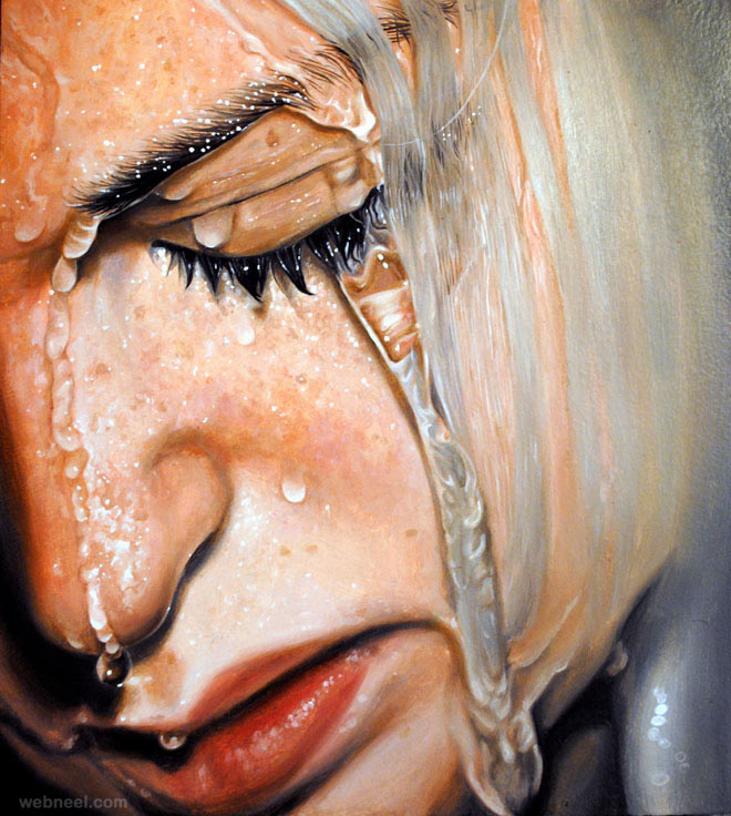 realistic painting
