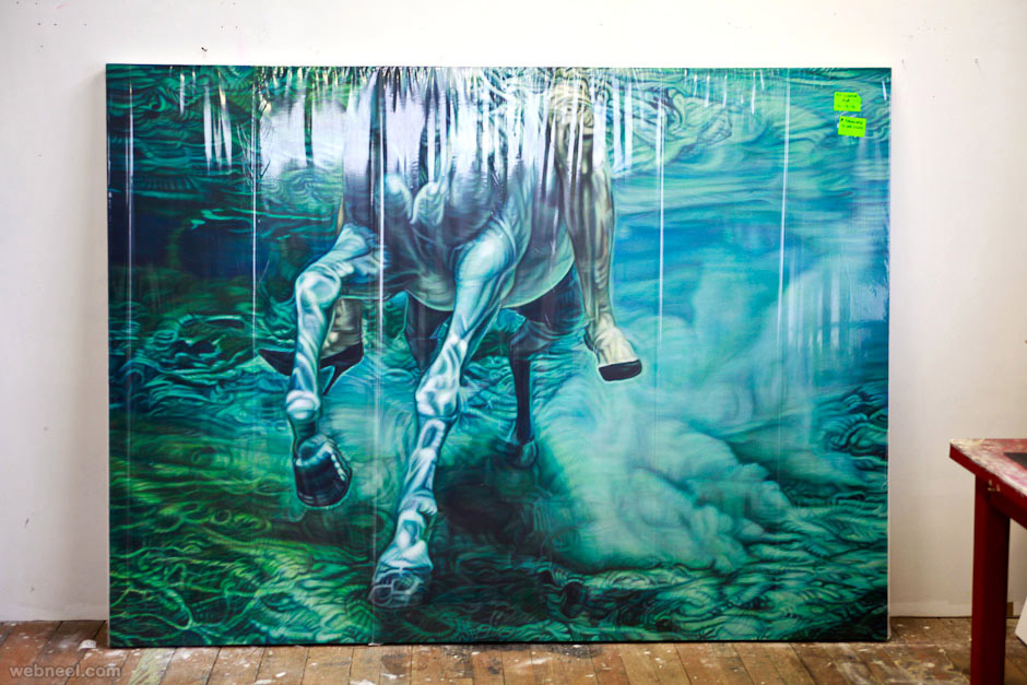 ana teresa fernandez oil paintings