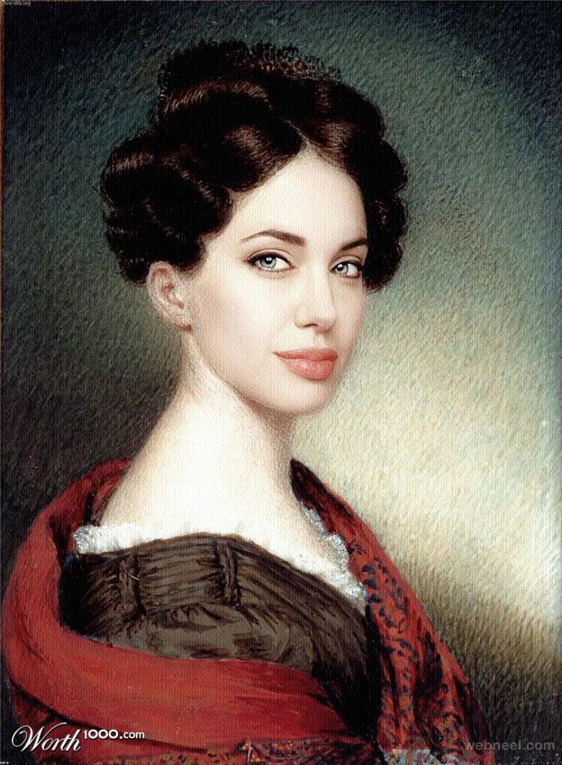 celebrity paintings