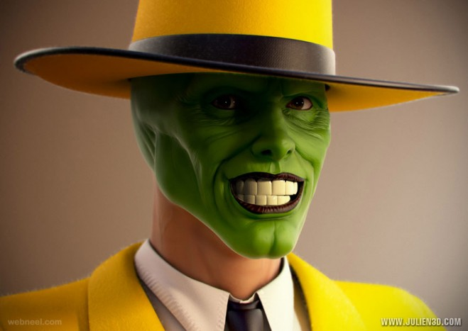 jim carrey 3d celebrity character design