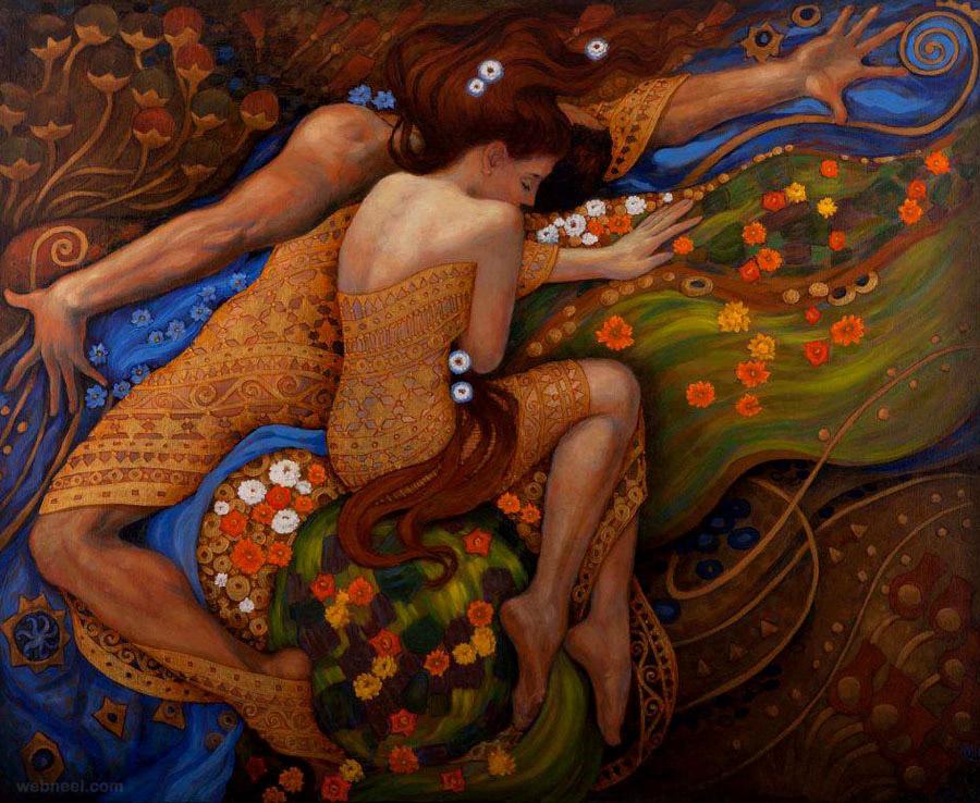 painting by irina karkabi