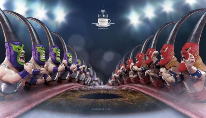 best ads eye lash coffee