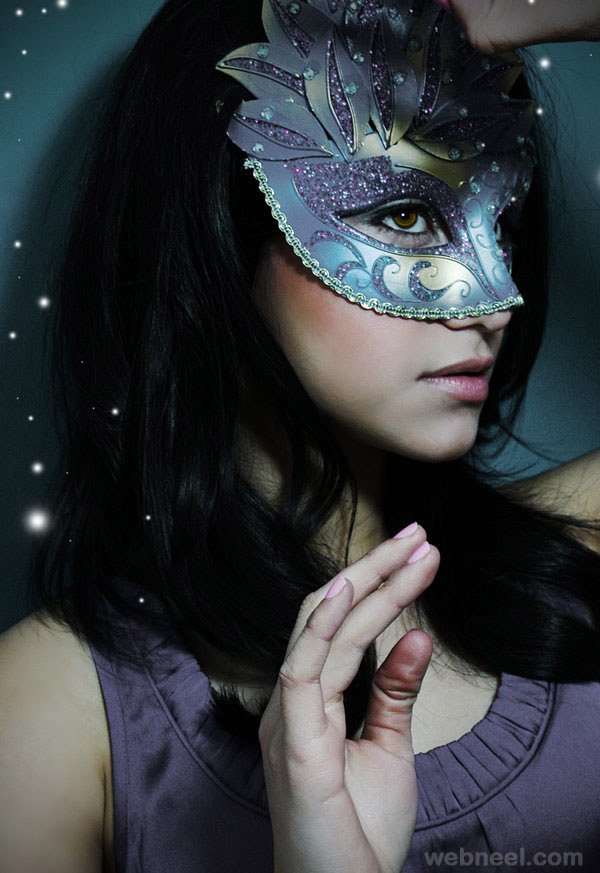 mask fashion photography by dangerously dolly
