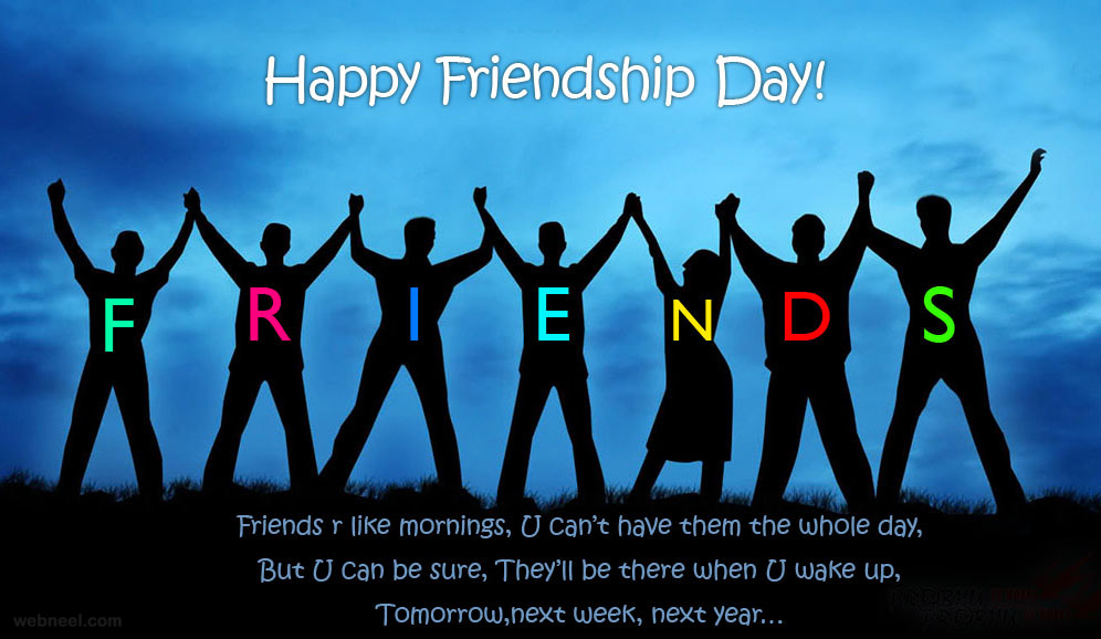 friendship day card design