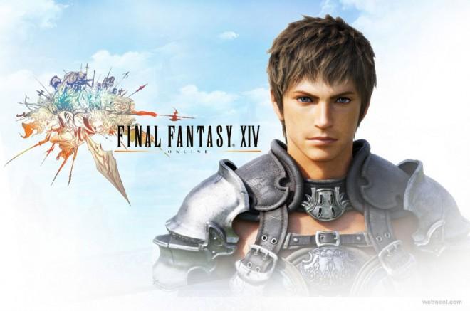 3d fantasy man model