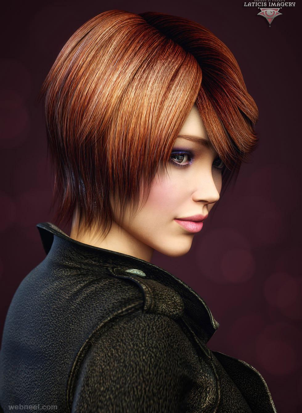 3d girl models