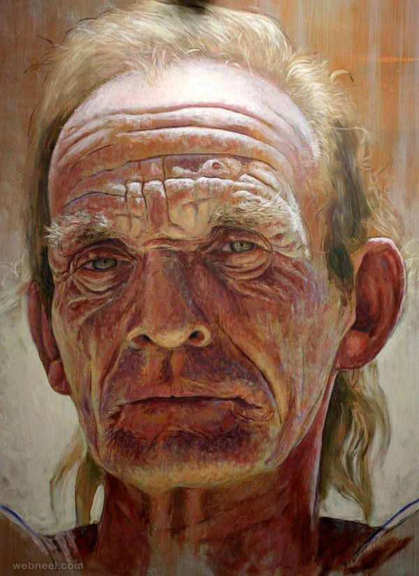 acrylic painting ruben belloso