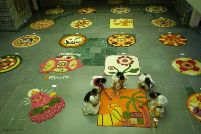 pookalam competition onam