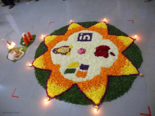 pookalam designs star