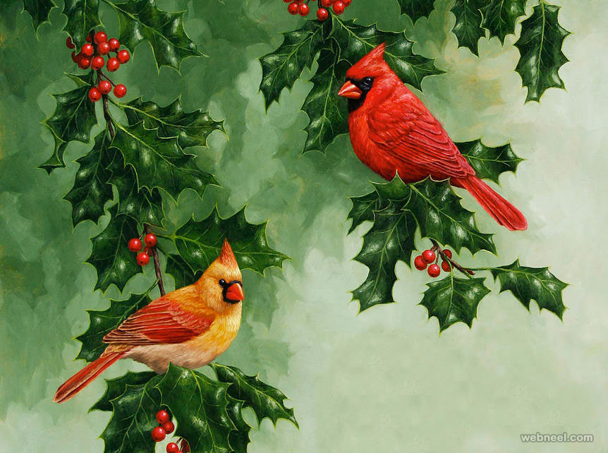 bird painting by crista forest