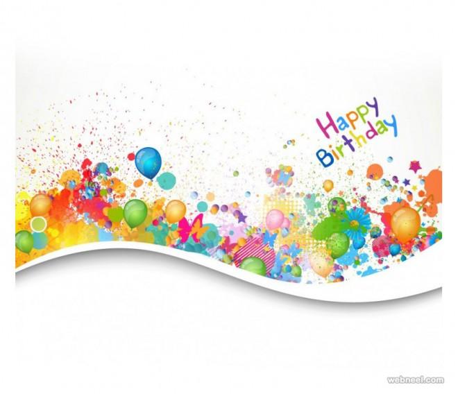 birthday greetings card design