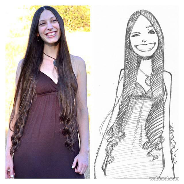 turn photo into cartoon by robert dejesus