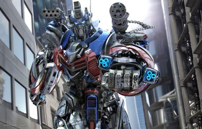 3d model robot by salvo brullo