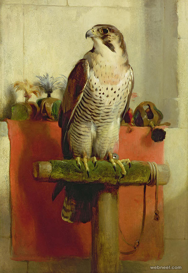 bird painting by edwin landseer