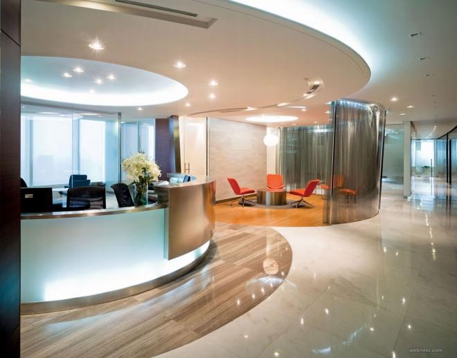 luxury modern office design idea