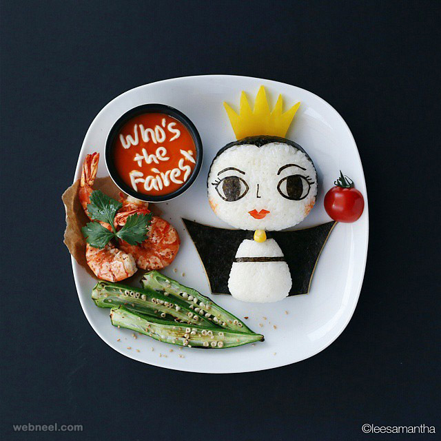 food art idea by samantha lee