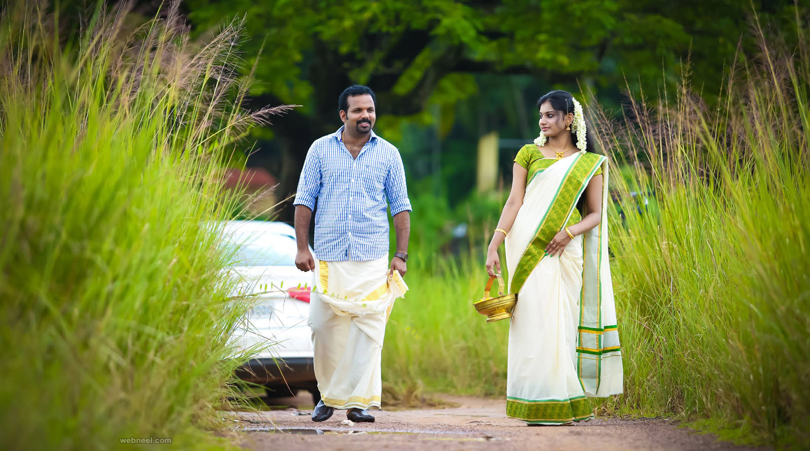 kerala wedding photography outdoor