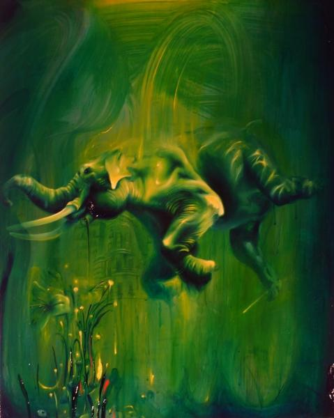 oil painting by michael page