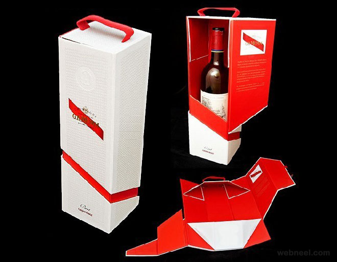 package design wine bottle