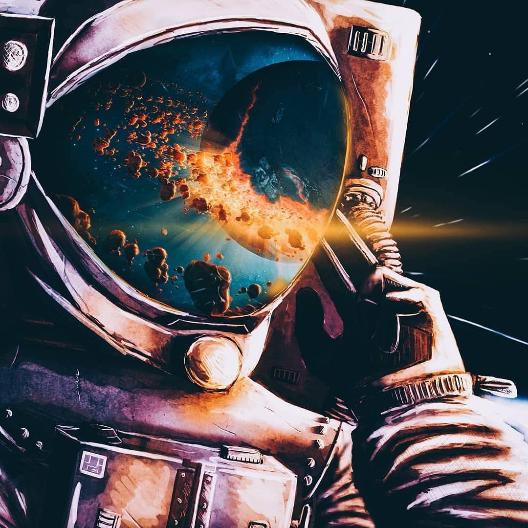 adobe photoshop creative cloud astronaut