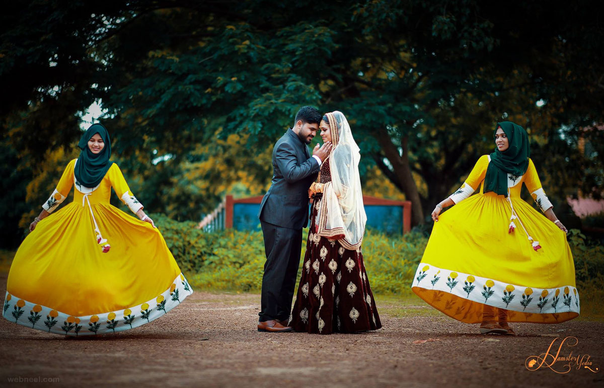 kerala wedding photography idea by hamstermedia