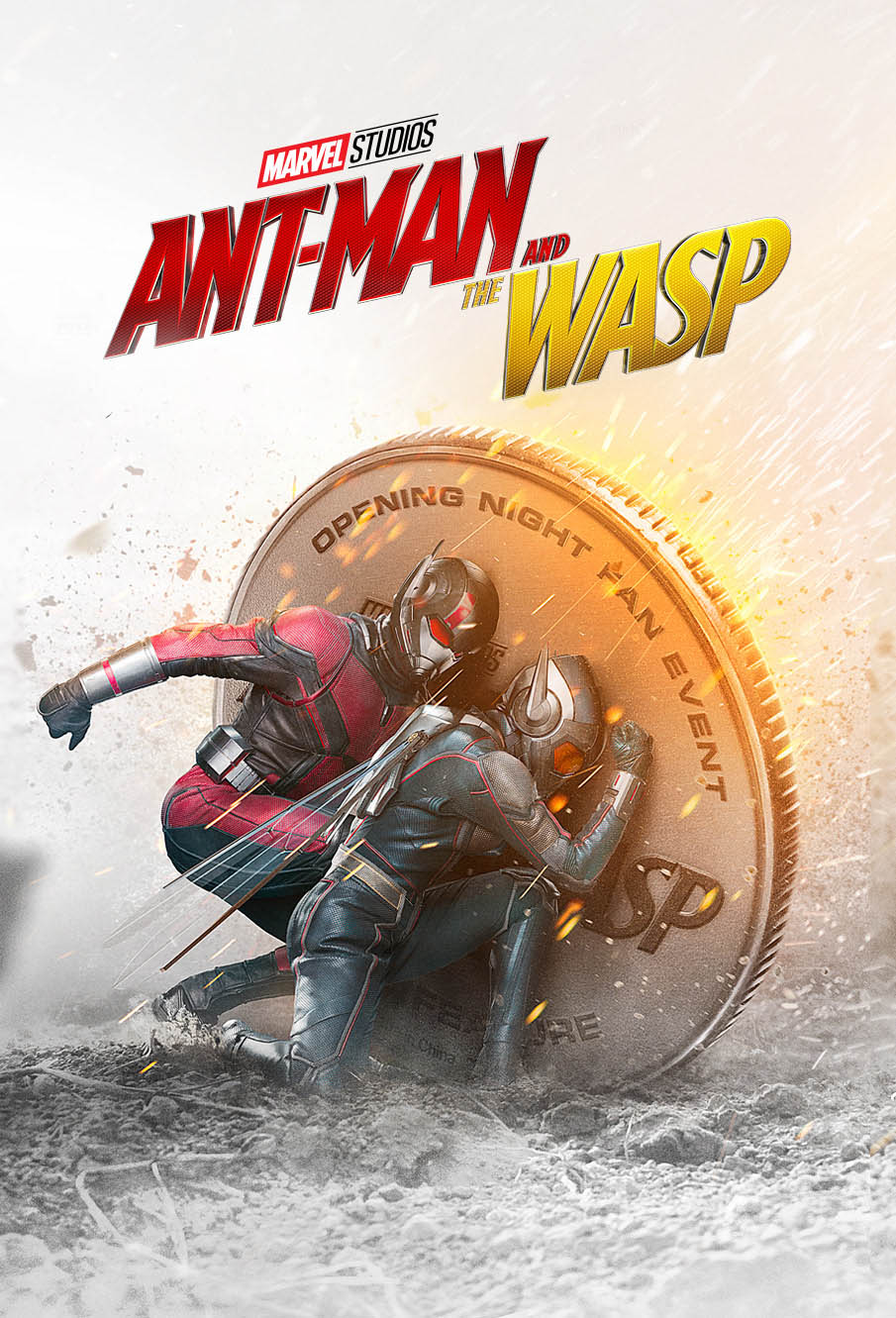 movie poster designs ideas ant man wasp by paul