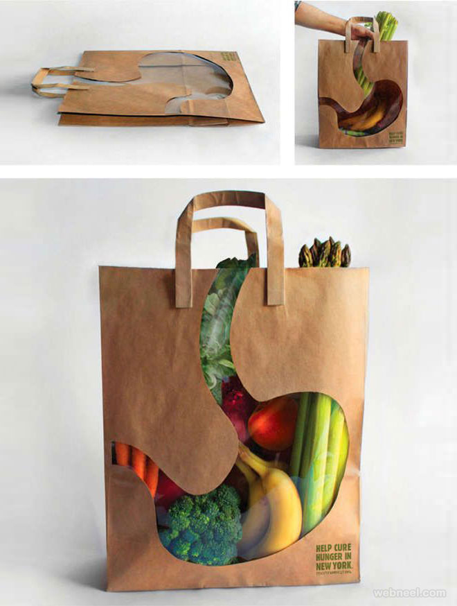package design bag food