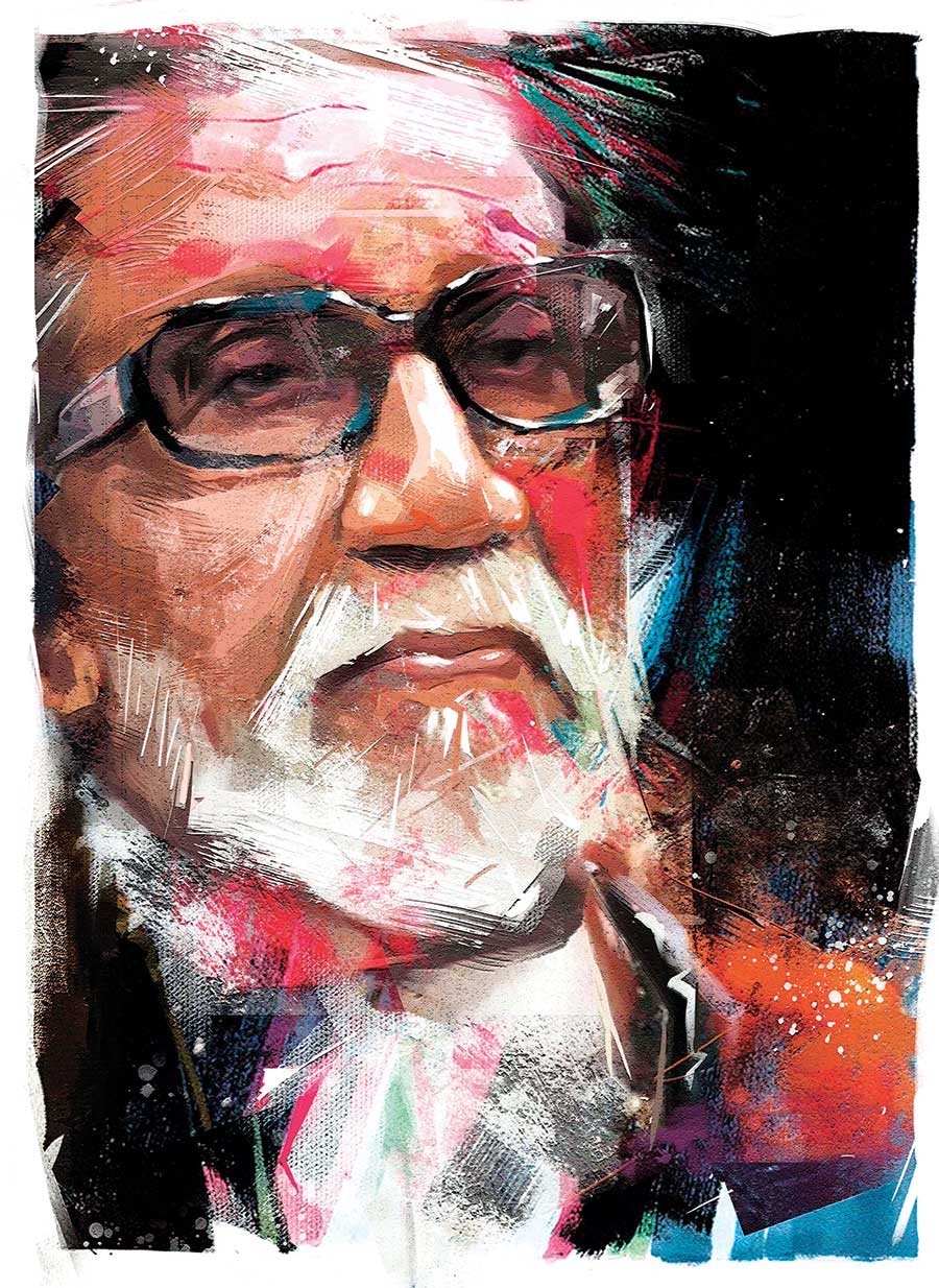 painting artwork balasaheb thackrey