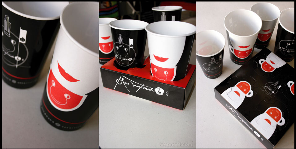 package design paper cup