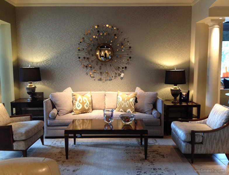 wall art metal living room