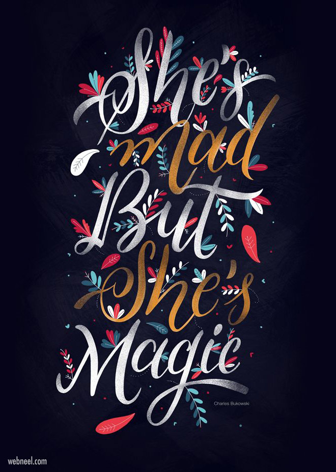 50 Creative Typography Designs And Illustration Ideas For You