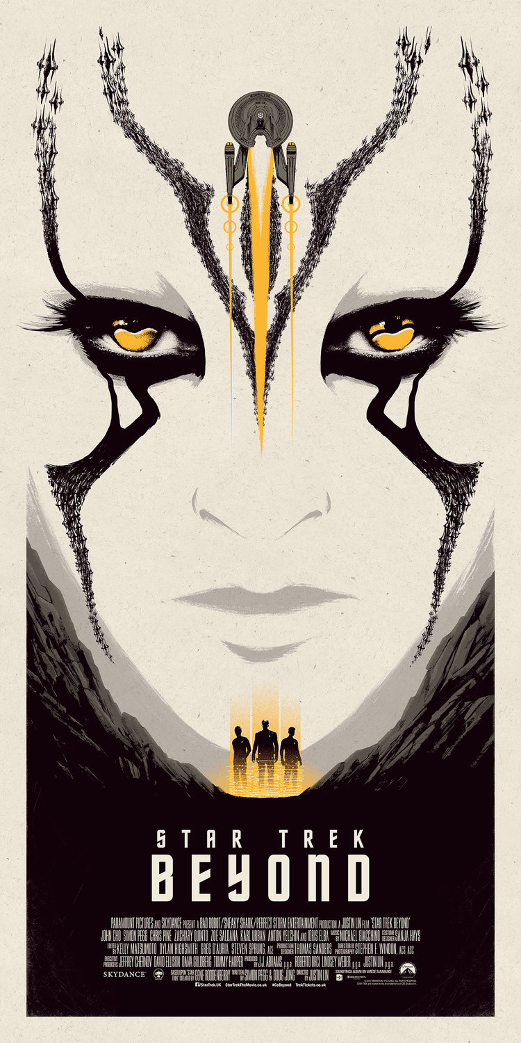 movie poster illustration star trek beyond
