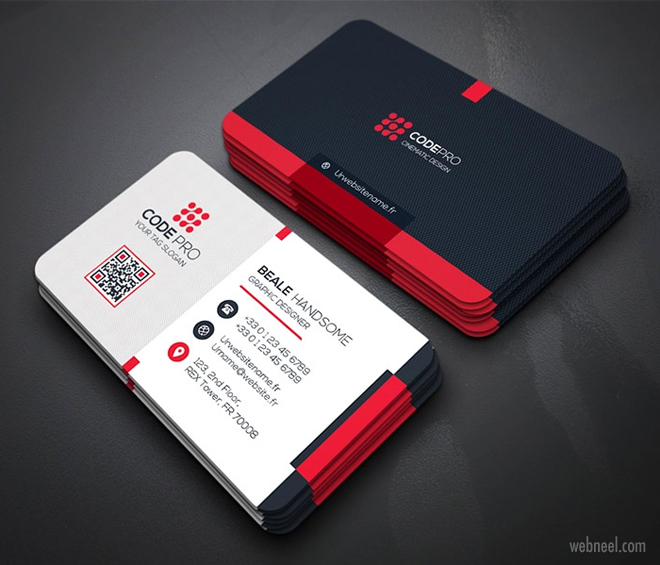 corporate business card design by mohmed jobair
