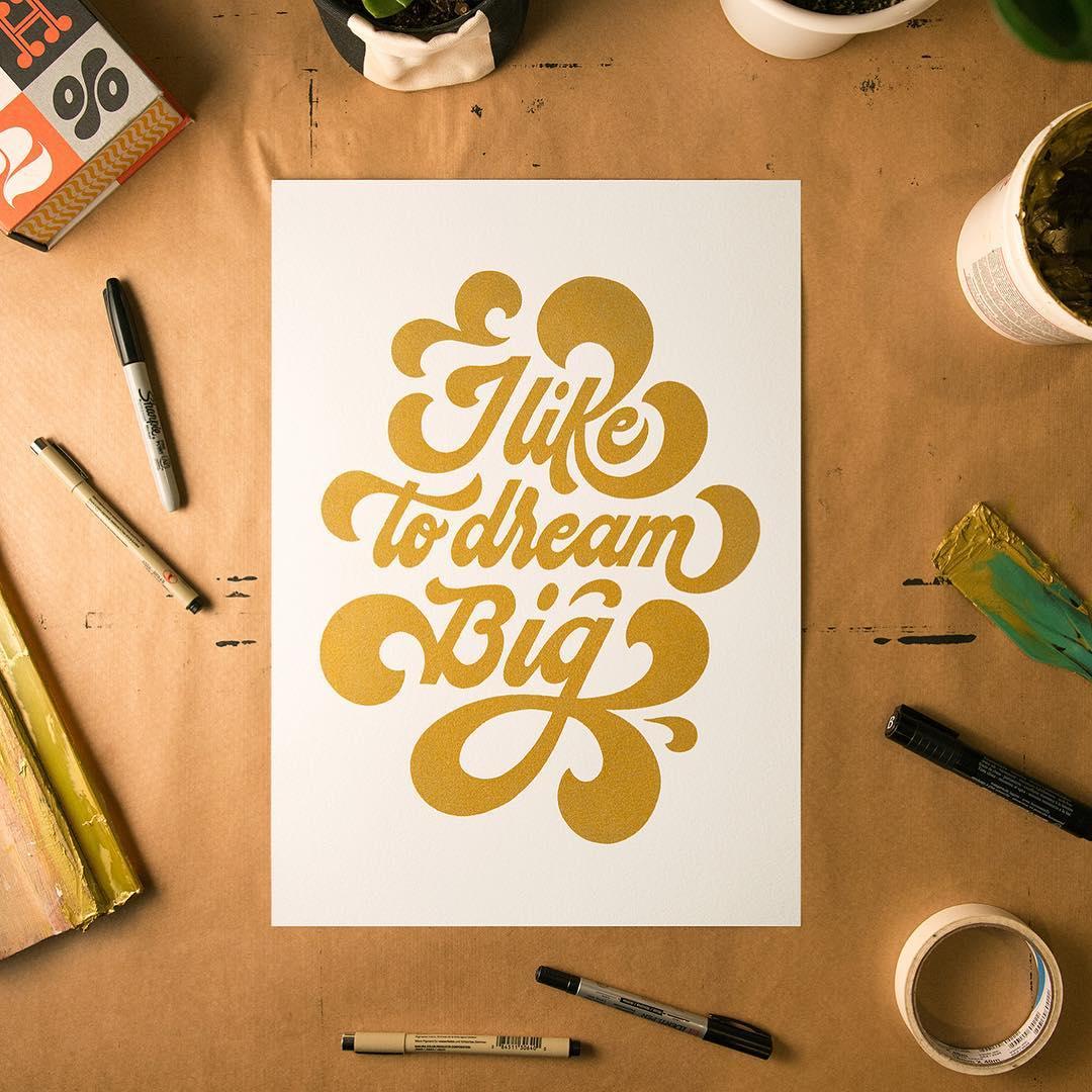 calligraphy dream