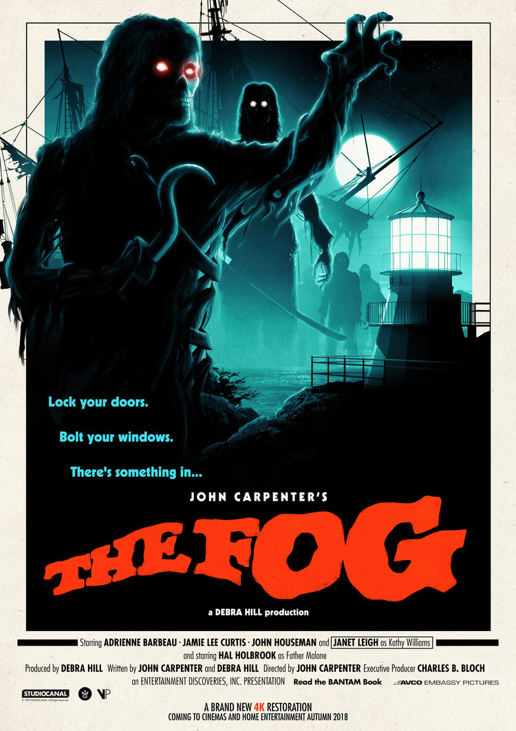 movie poster illustration fog by matt ferguson