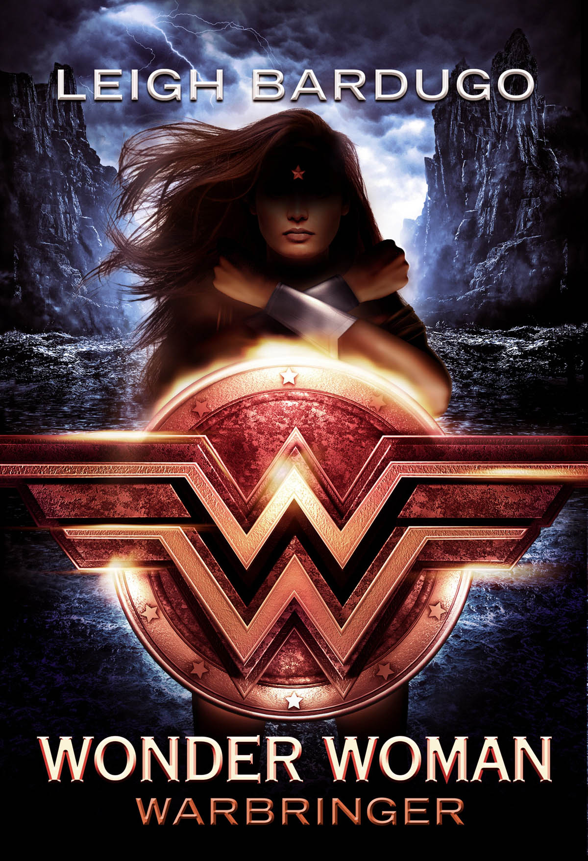movie poster design scifi cgi wonderwoman