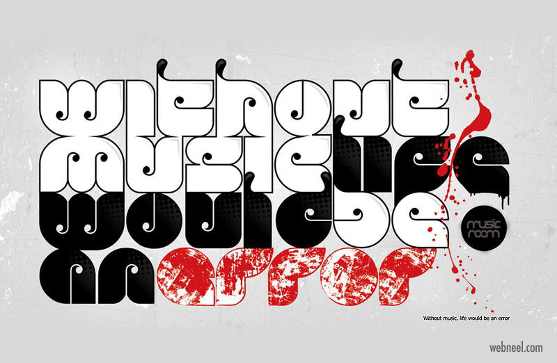 typography design idea by solo designer