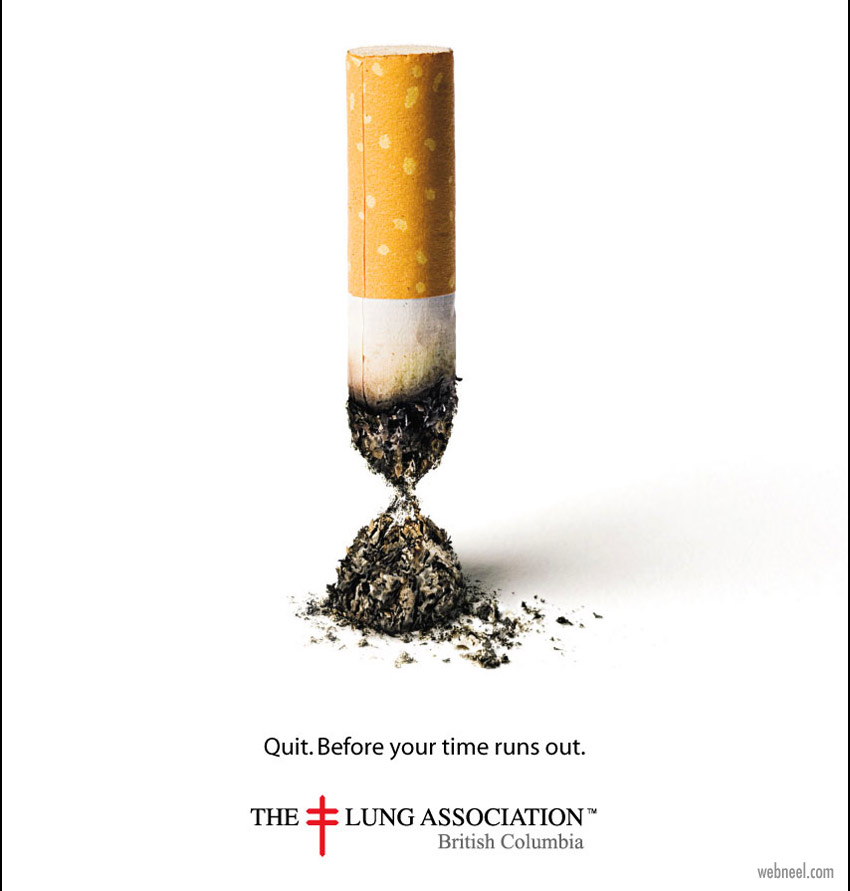 anti smoking ads design idea cigarete by osocio