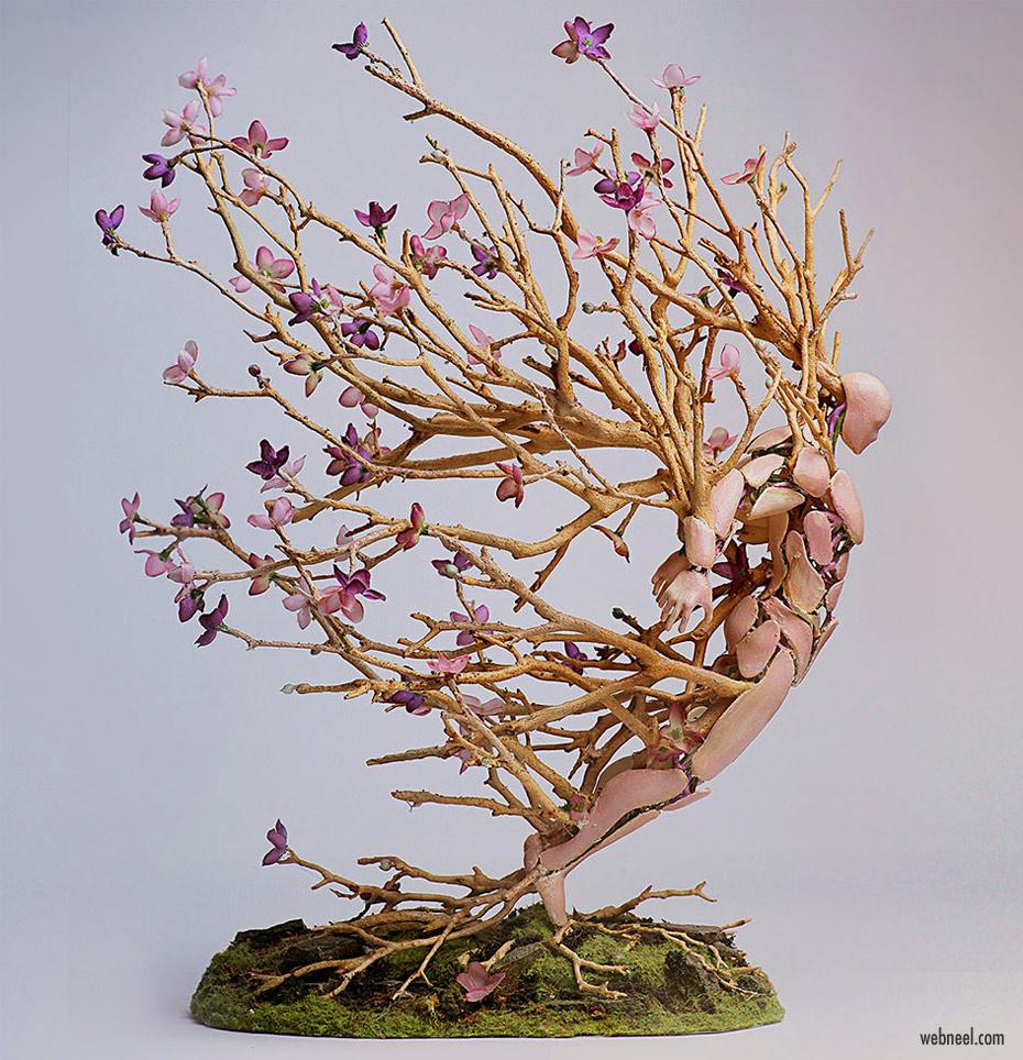 figurative sculpture art idea by garretkane